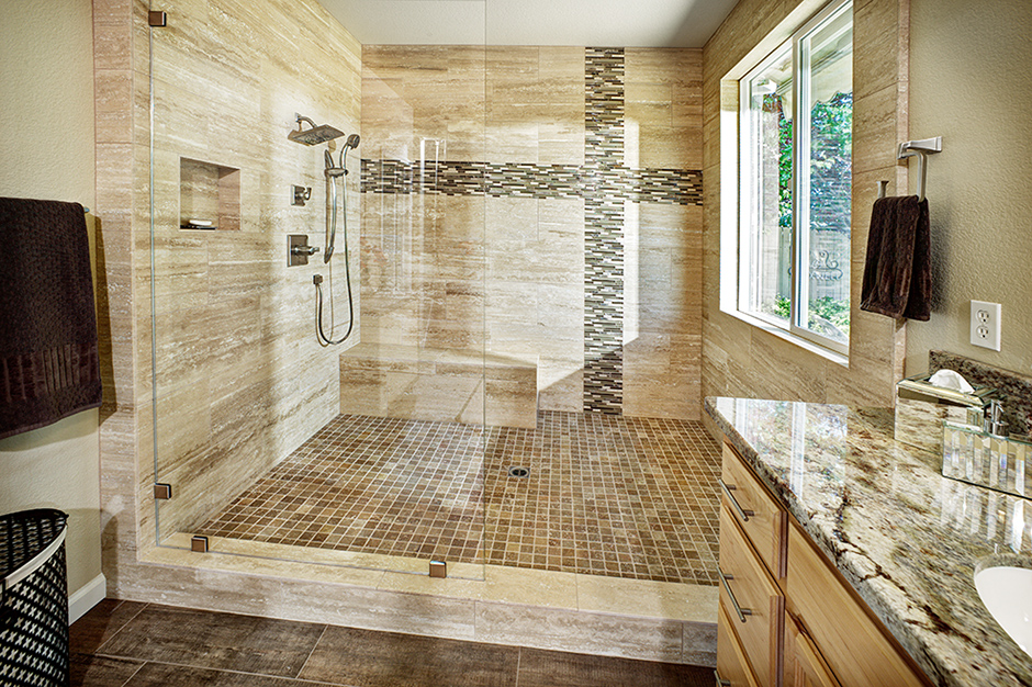 Incredible Custom Bathrooms Jnt Building And Remodeling Beutiful Home Inspiration Semekurdistantinfo